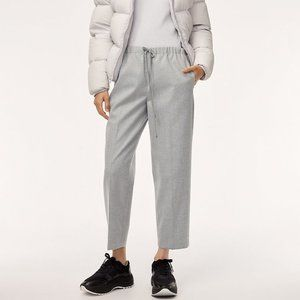 The Group by Babaton Grey Jimmy Pants Heather Comet Drawstring Trousers